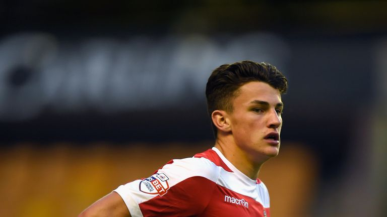 Regan Poole made 15 senior appearances for Newport County, before moving to United