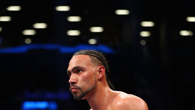 Keith Thurman is taking time away from the ring to rehabilitate elbow and hand injuries