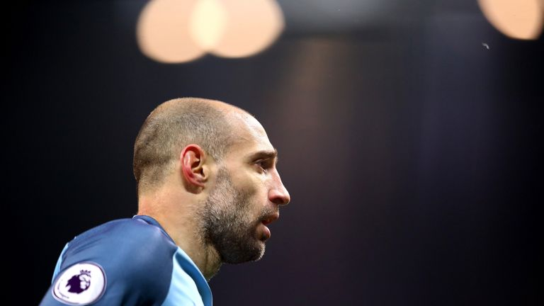 Pablo Zabaleta joined Manchester City in 2008 and has made over 300 appearances