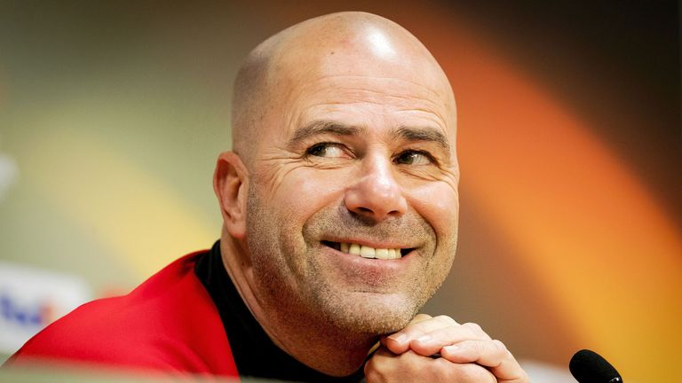 Peter Bosz is currently in his first season as Ajax head coach