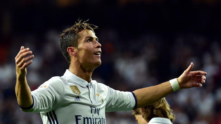 Ronaldo said David de Gea is a 'very good keeper'