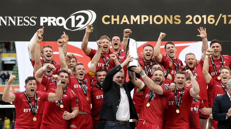 Scarlets won the league title last year and have begun the season in a similar vain