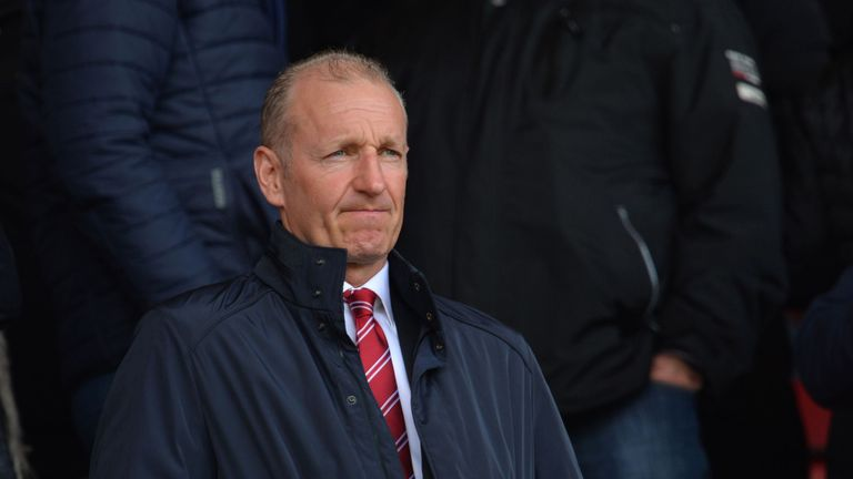 Saints chairman Ralph Krueger is happy with the club's financial position