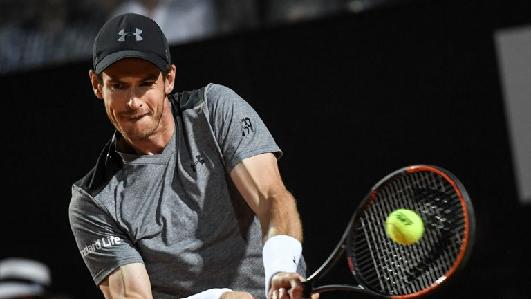 Murray lacked confidence against an inspired Fognini