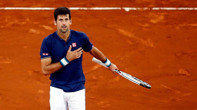 Novak Djokovic got the better of Feliciano Lopez to progress