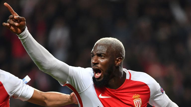 Tiemoue Bakayoko made 46 appearances for Monaco last season