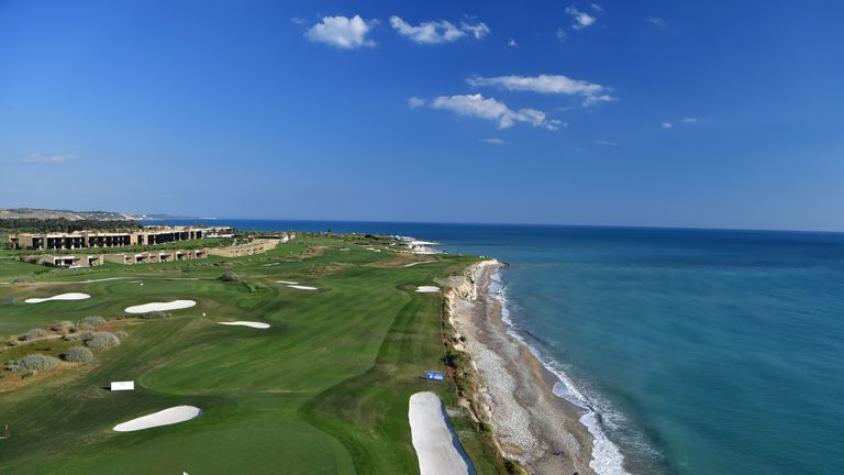 The Verdura Golf and Spa Resort was one of the most picturesque venues on the European Tour last year