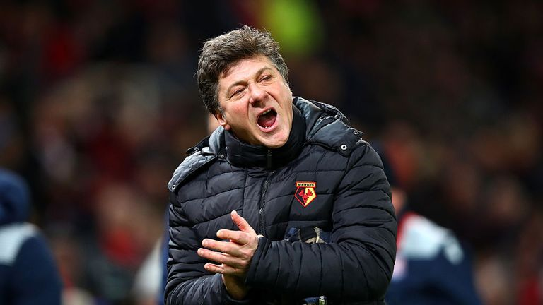 Walter Mazzarri lost his job at Watford after just one season in charge