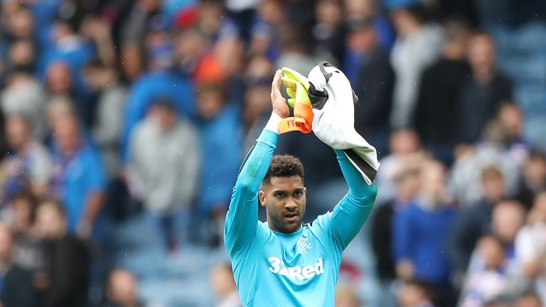 Wes Foderingham has impressed in Scotland after starting his career at Fulham