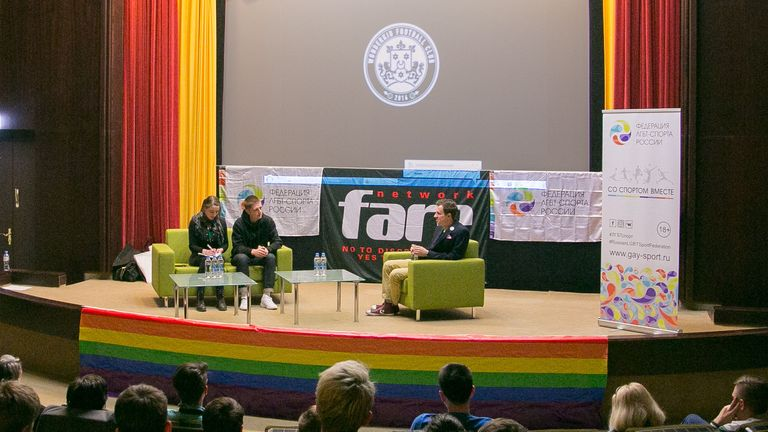 A Q&A was held after the screening of the short film