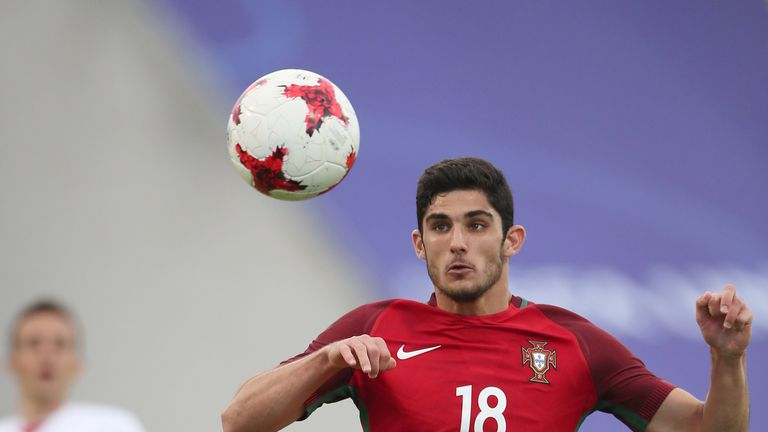 Goncalo Guedes has been compared to Cristiano Ronaldo