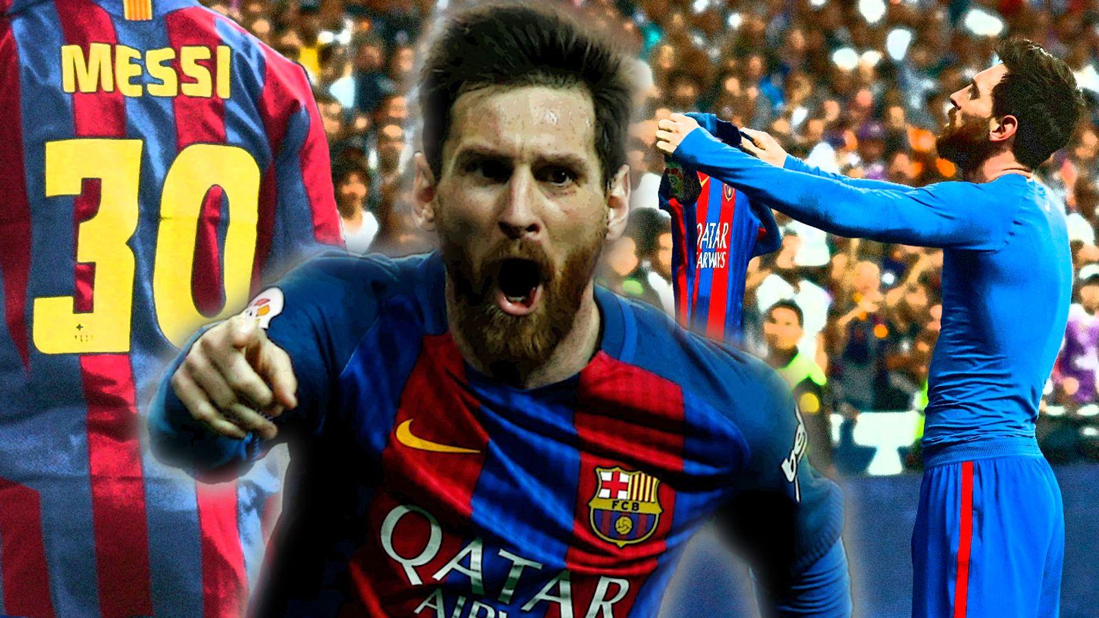 607b990dc07 Lionel Messi s 30th birthday  30 stats to celebrate Barcelona forward