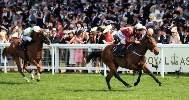 Heartache leaves Happy Like A Fool trailing in her wake at Royal Ascot