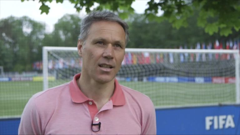 Marco van Basten became a technical director for FIFA in 2016
