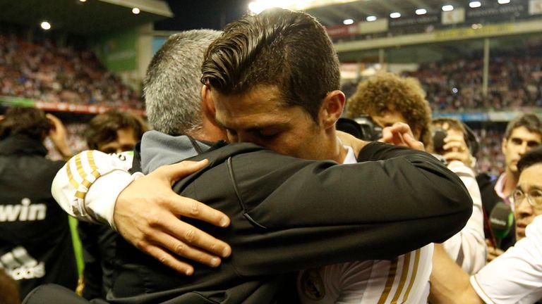 Cristiano Ronaldo helped deliver the La Liga title under Jose Mourinho in 2012