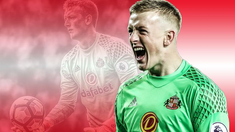 Jordan Pickford's rise to the top has been a gradual one over many years
