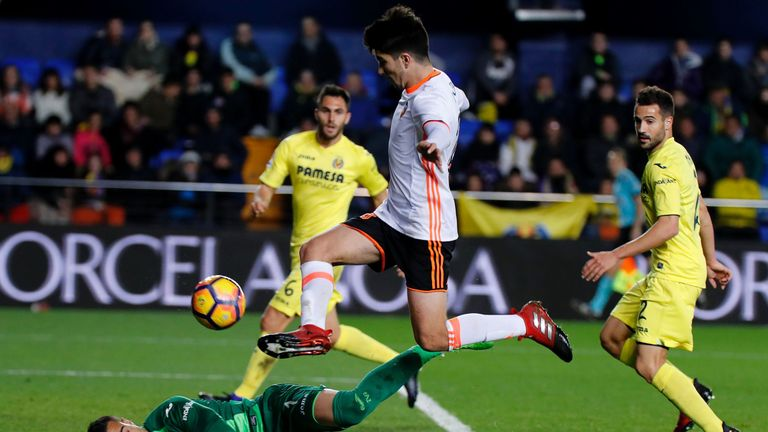 Valencia's Carlos Soler is among the best young talents to emerge