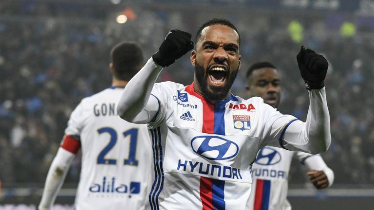 Lacazette helped Lyon to the Europa League semi-finals last season