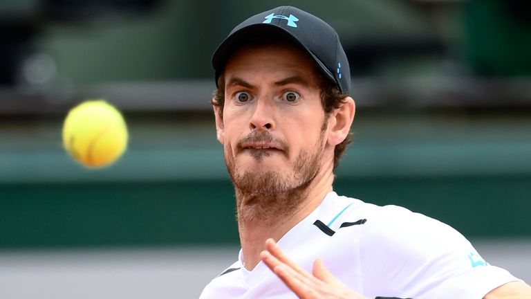 Murray was broken twice on Monday, but fought back immediately both times