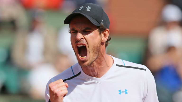 Andy Murray will play at this year's French Open at Roland Garros