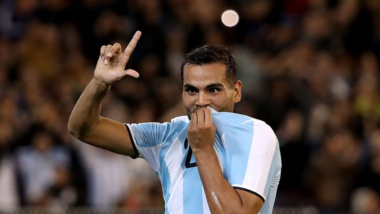 Gabriel Mercado scored the only goal of the game as Argentina beat Brazil