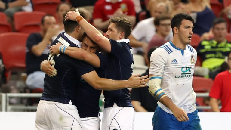 Scotland produced an impressive display to see off Italy
