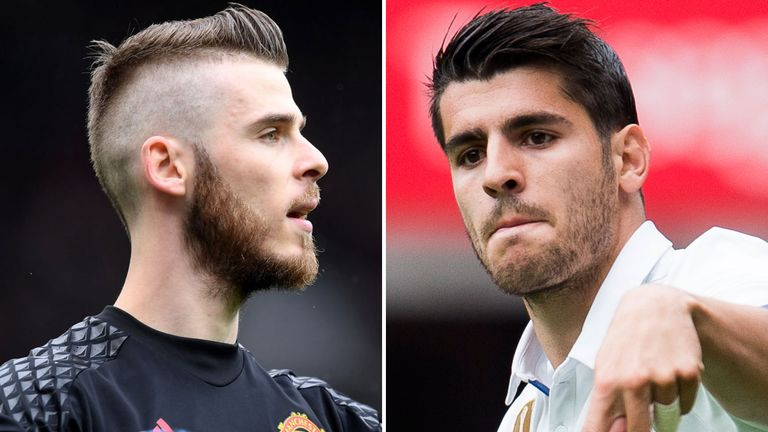 Jose Mourinho is open to a part exchange deal involving David de Gea and Alvaro Morata