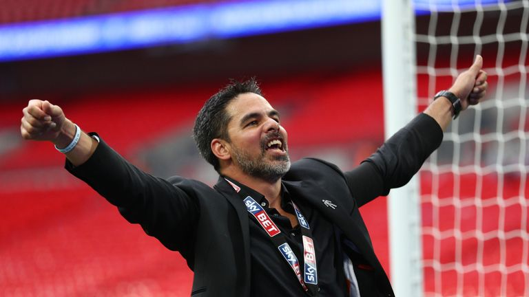 David Wagner's Huddersfield came up through the play-offs