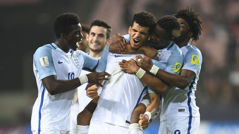Dominic Solanke continues his spell in Aidy Boothroyd's U21 squad