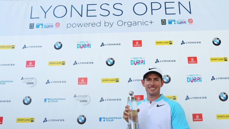 Dylan Frittelli's first European Tour title is the 2017 Lyoness Open