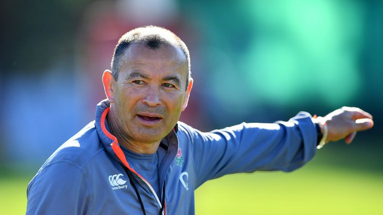 Eddie Jones insists England are at an 'incredibly important stage' ahead of the Japan World Cup in 2019
