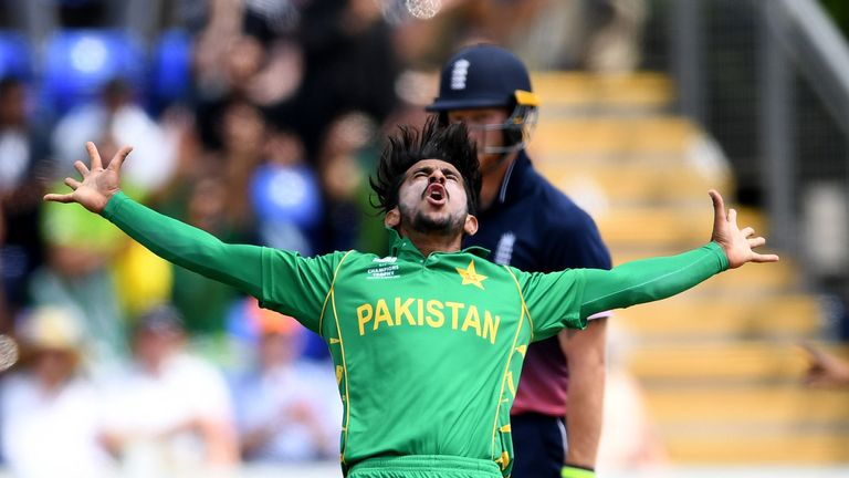 Pakistan beat England by eight wickets in the Champions Trophy semi-final in Cardiff in 2017