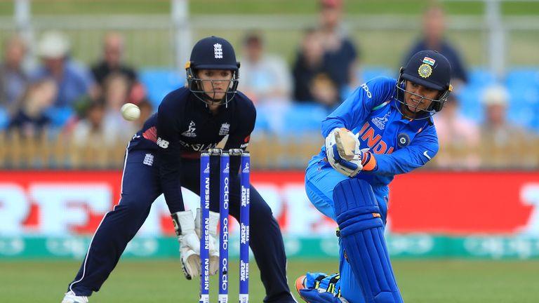 Smriti Mandhana smashed 90 off 72 balls in India's shock win over England