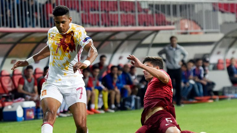 Jordi Mboula has played for Spain at youth level
