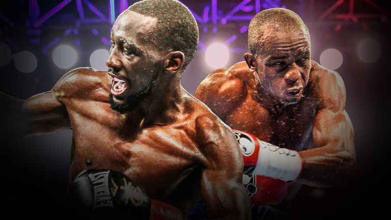 Terence Crawford faces Julius Ingongo with all the super-lightweight world titles at stake, live on Sky Sports
