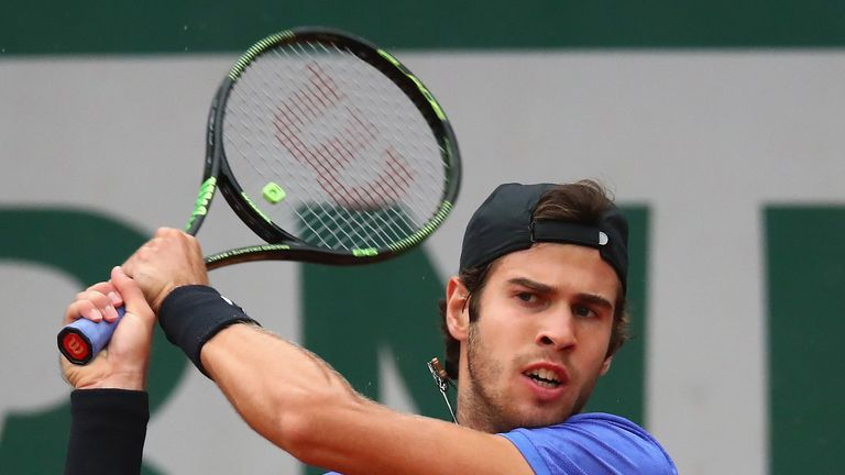 Karen Khachanov is among those players to have qualified for the tournament in Milan