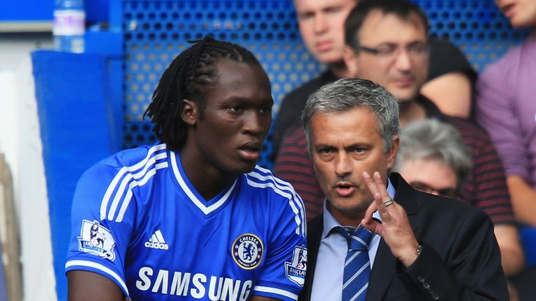 Mourinho allowed Lukaku to leave Chelsea in 2014