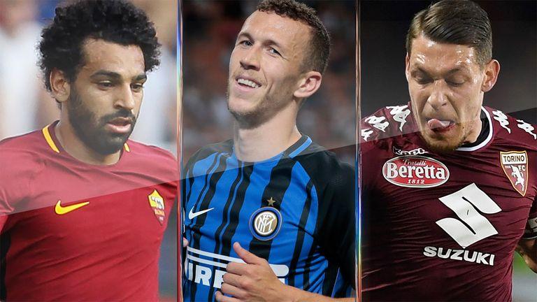 The likes of Mohamed Salah, Ivan Perisic and Andrea Belotti could all swap Serie A for the Premier League this summer
