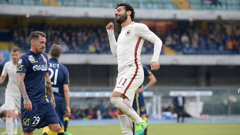 Mohamed Salah remains a key target for Liverpool but a fee is still to be agreed with Roma