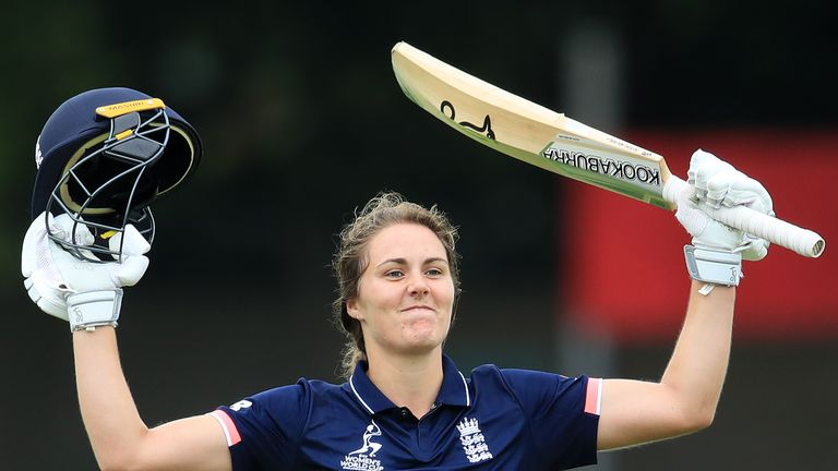 England's Natalie Sciver, one of the latest stars of English women's cricket