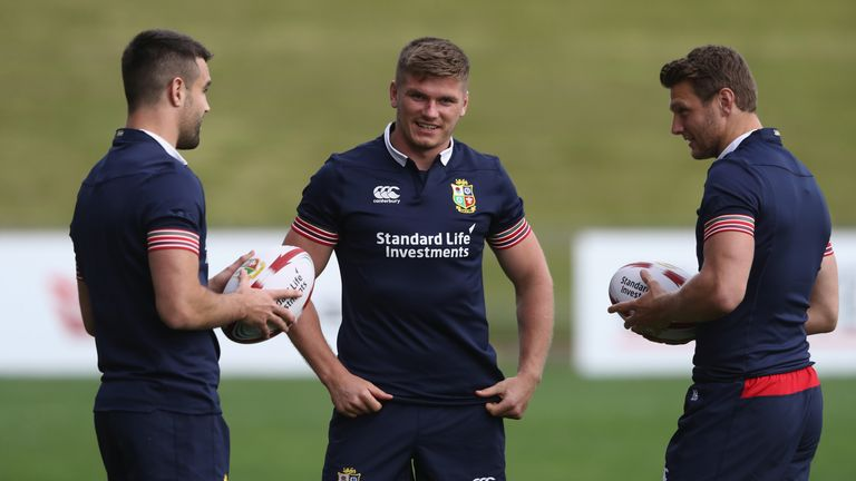 The kicking game of Conor Murray and Owen Farrell will be vital in Auckland