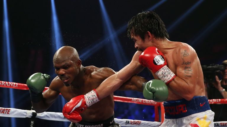 Bradley and Manny Pacquiao met on three occasions, with Pacman claiming two of those