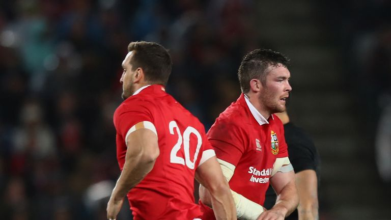 Sam Warburton began the first Test out of the side, but regained his place over Peter O'Mahony for the second Test