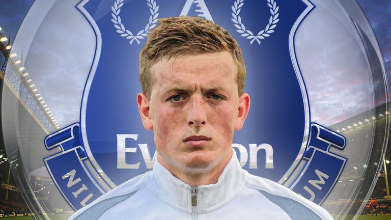 Jordan Pickford's gradual progress has earned him a move to Everton
