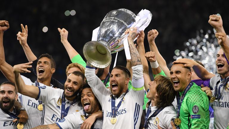 Real Madrid clinched the Champions League with victory over Juventus in June