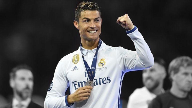 Cristiano Ronaldo was Real Madrid's star man in the Champions League final