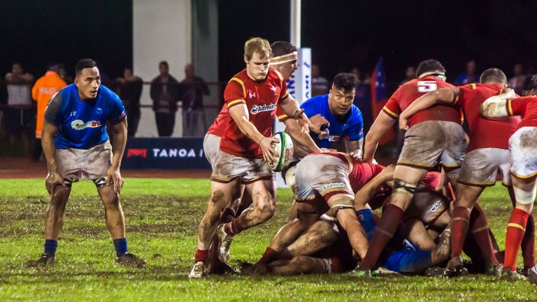 Wales came from behind to beat Samoa in Apia