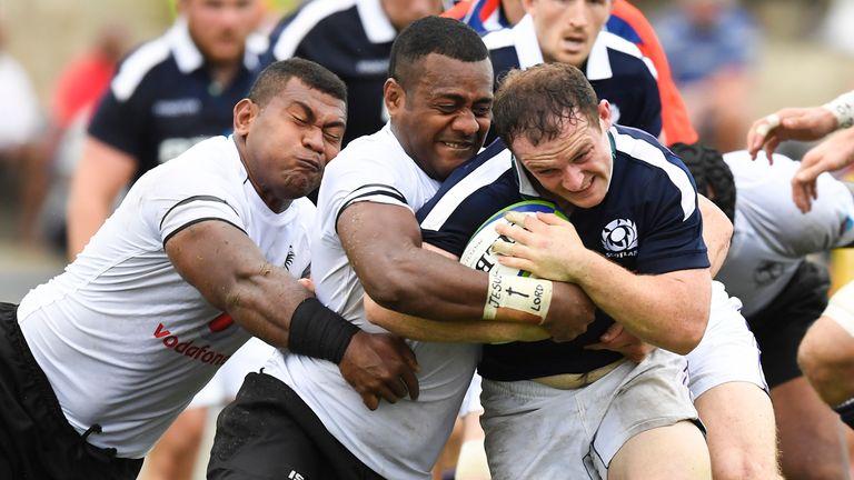 Fiji were 27-22 winners over Scotland when the sides met in Suva in June 2017