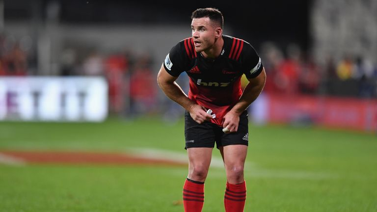 Ryan Crotty will be playing with the Crusaders next season