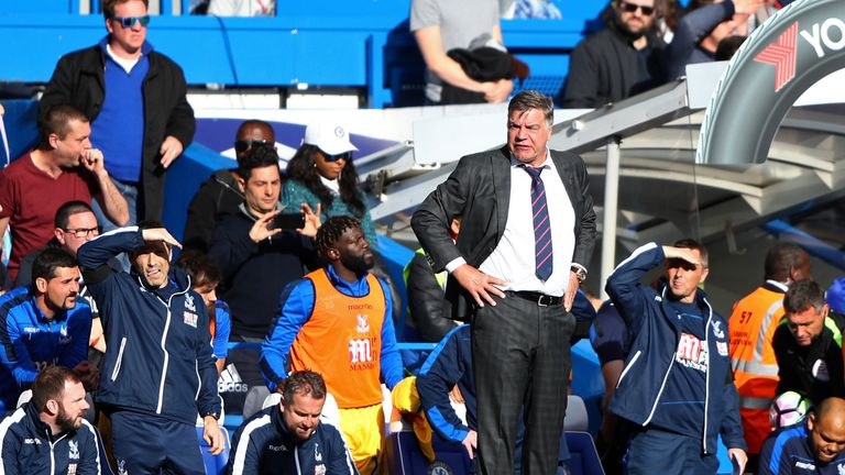 Allardyce kept Crystal Palace in the Premier League last season